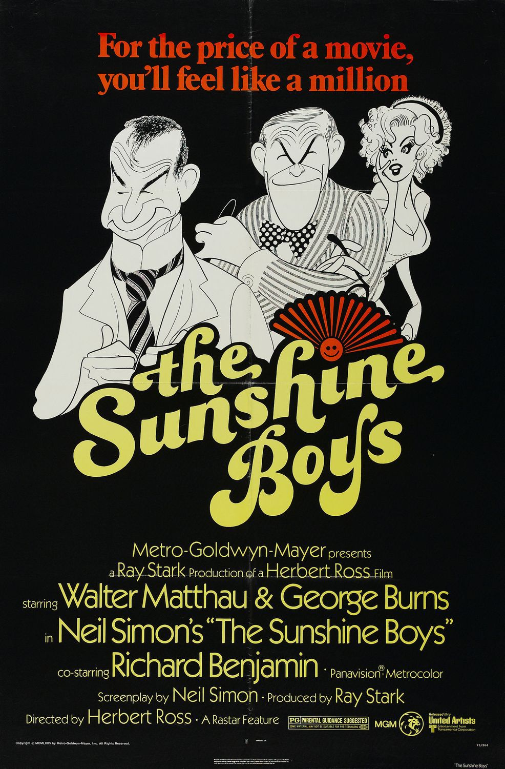 Sunshine Boys - classic cult comedy film poster