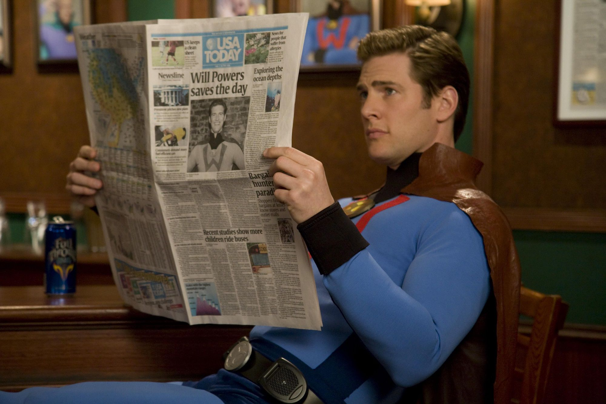 Super Capes - Ryan McPartlin as Will Powers