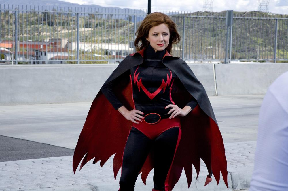 Super Capes - evil - Christine Lakin as Red