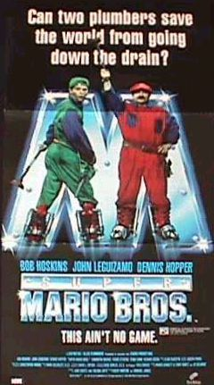 Super Mario Bros live action - poster