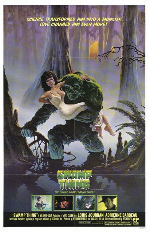 Swamp Thing (1982) - film poster