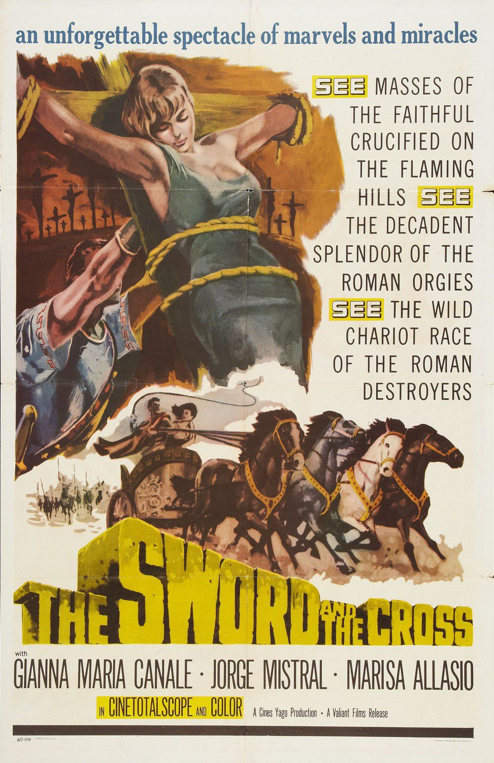 Sword and the Cross (1956)