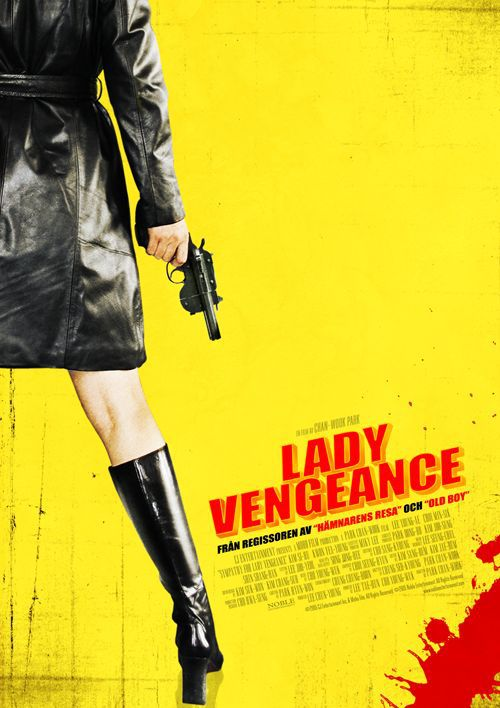 Sympathy for Lady Vengeance - Lady Vendetta - yellow poster