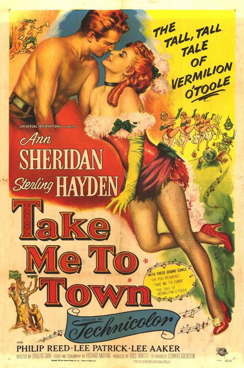 Take me to Town (1953) - classic old cult film poster