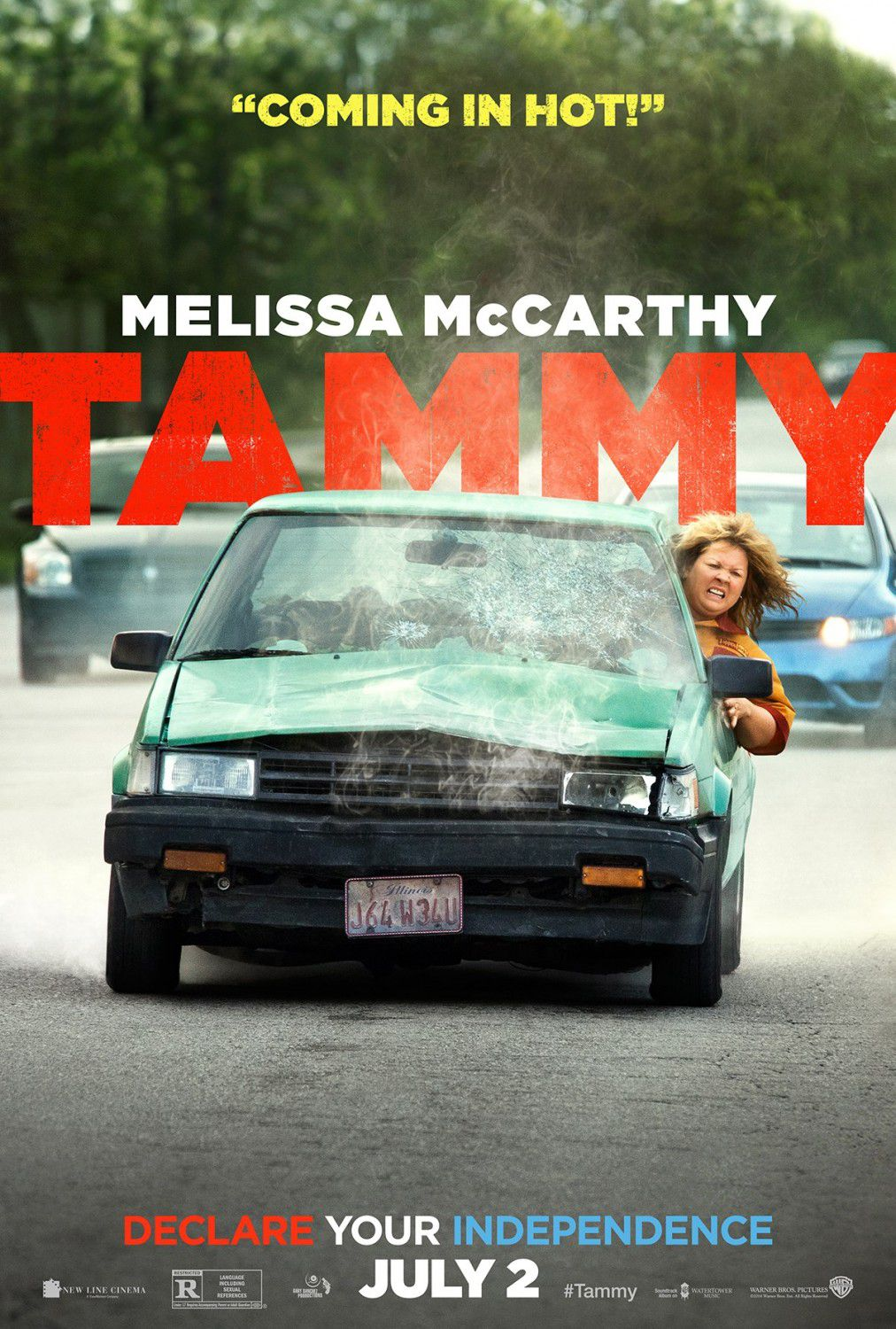 Tammy - drive car poster