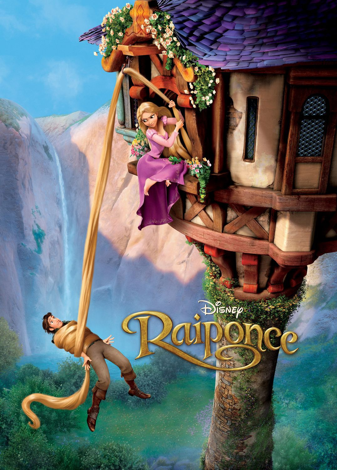 Rapunzel - Raiponce - tower in the jungle