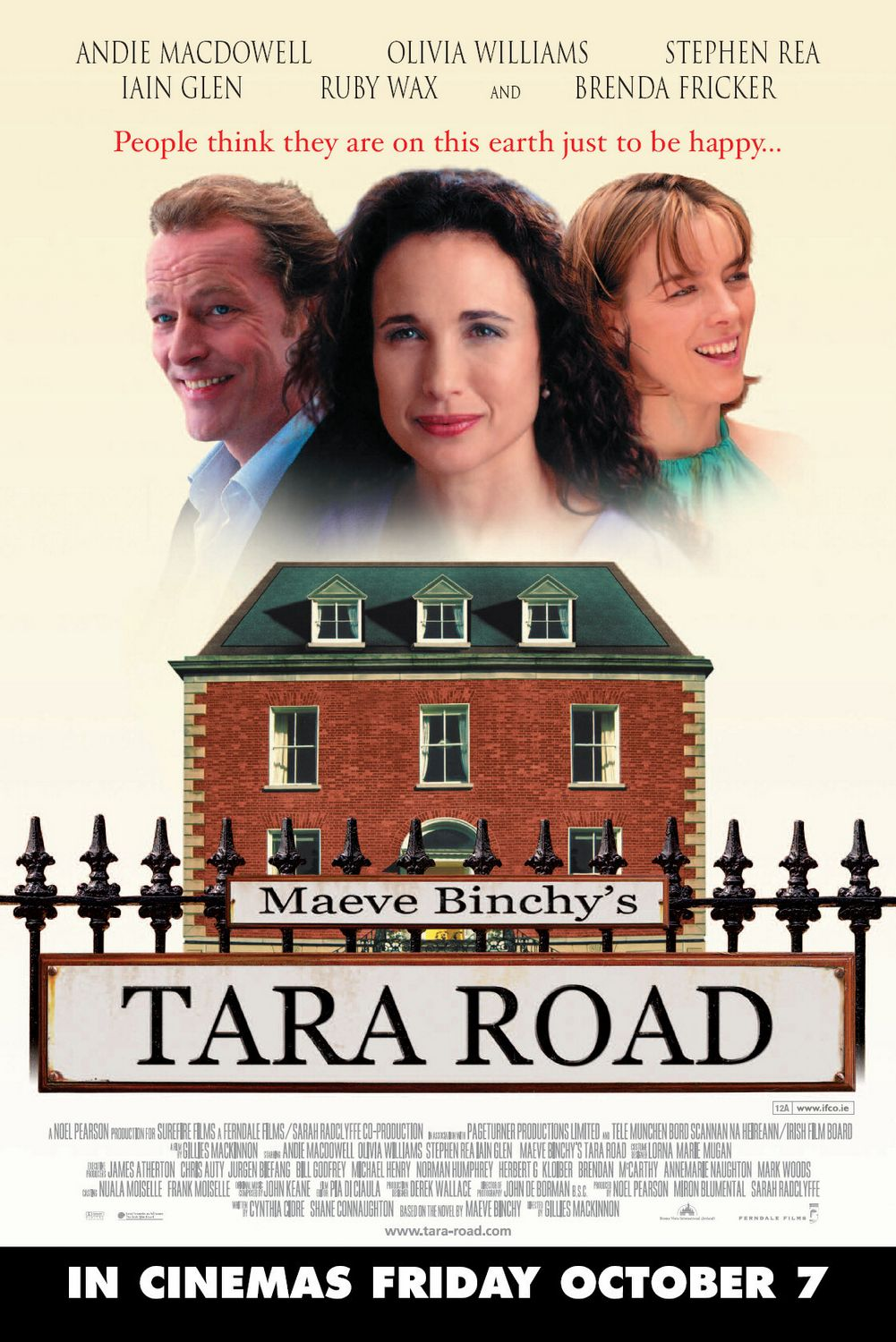 Tara Road - love comedy film poster