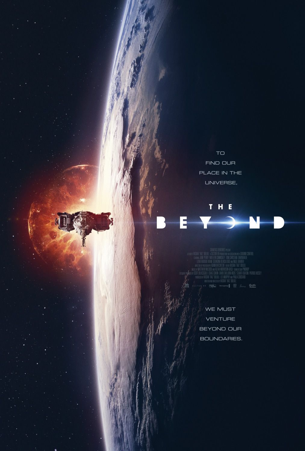 The Beyond - scifi film poster