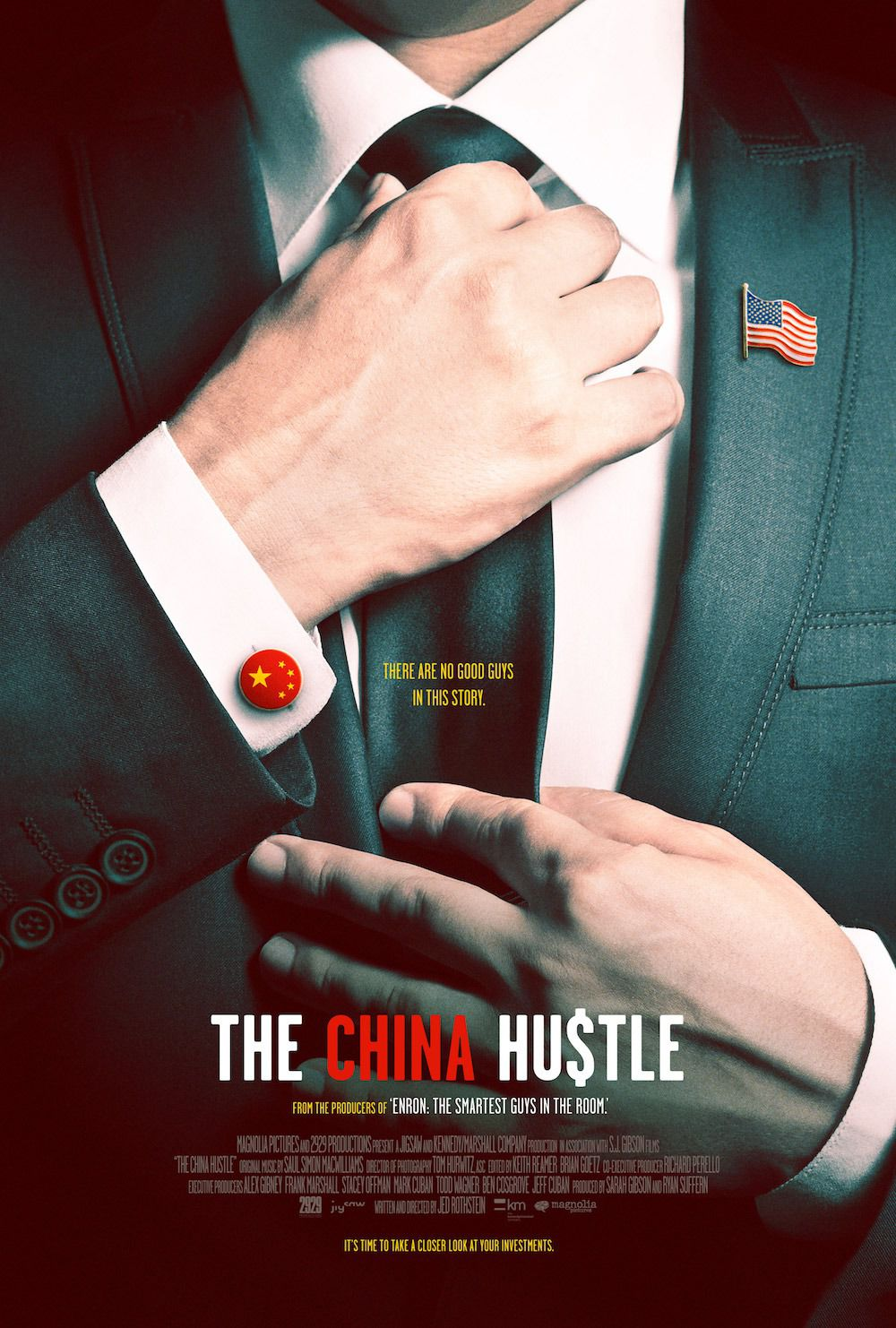 The China Hustle - film poster