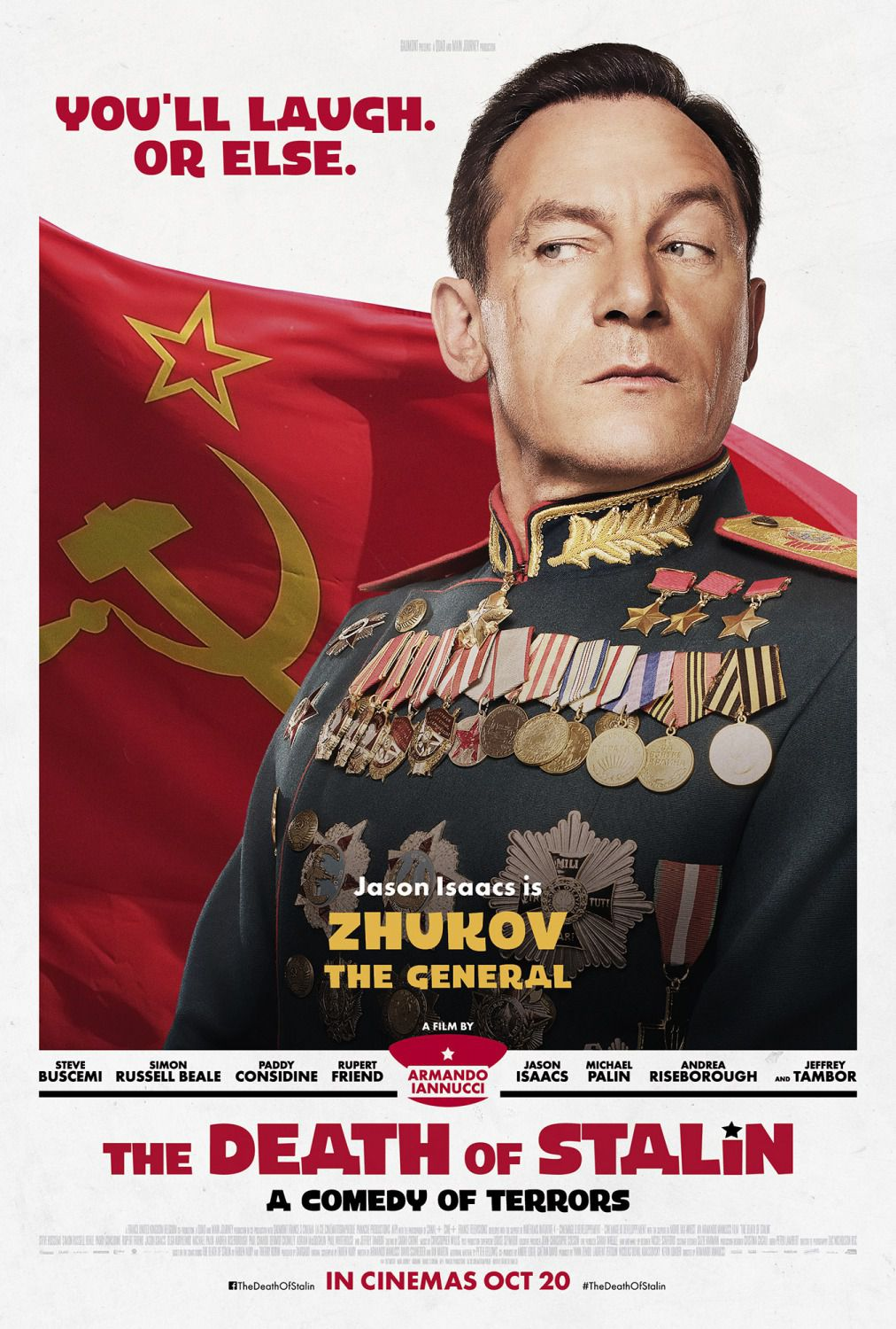 Jason Isaacs is Zhukov the General