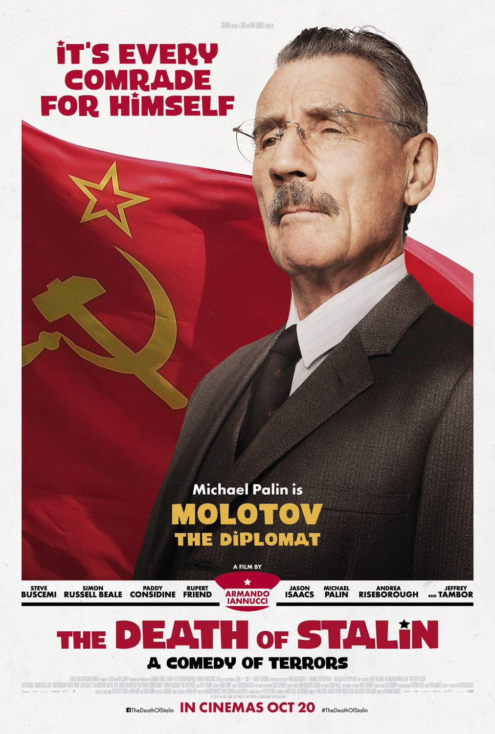Michael Palin is Molotov the Diplomat
