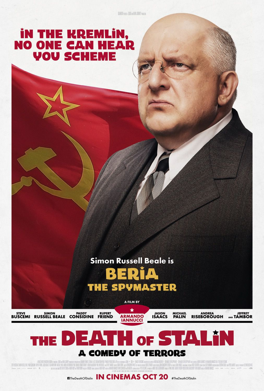 Simon Russell Beale is Beria the Spymaster