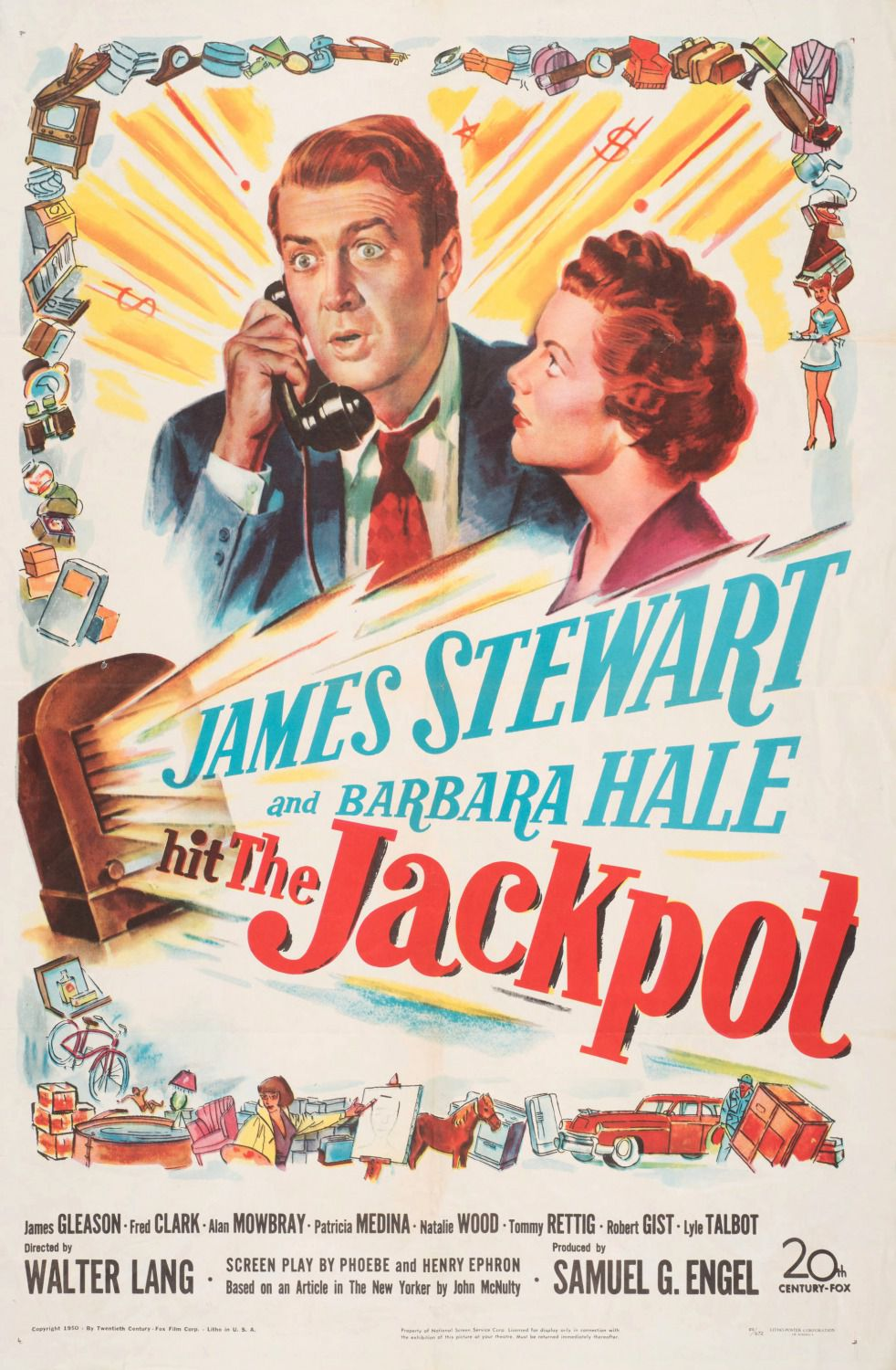 The Jackpot - cult old film 1950