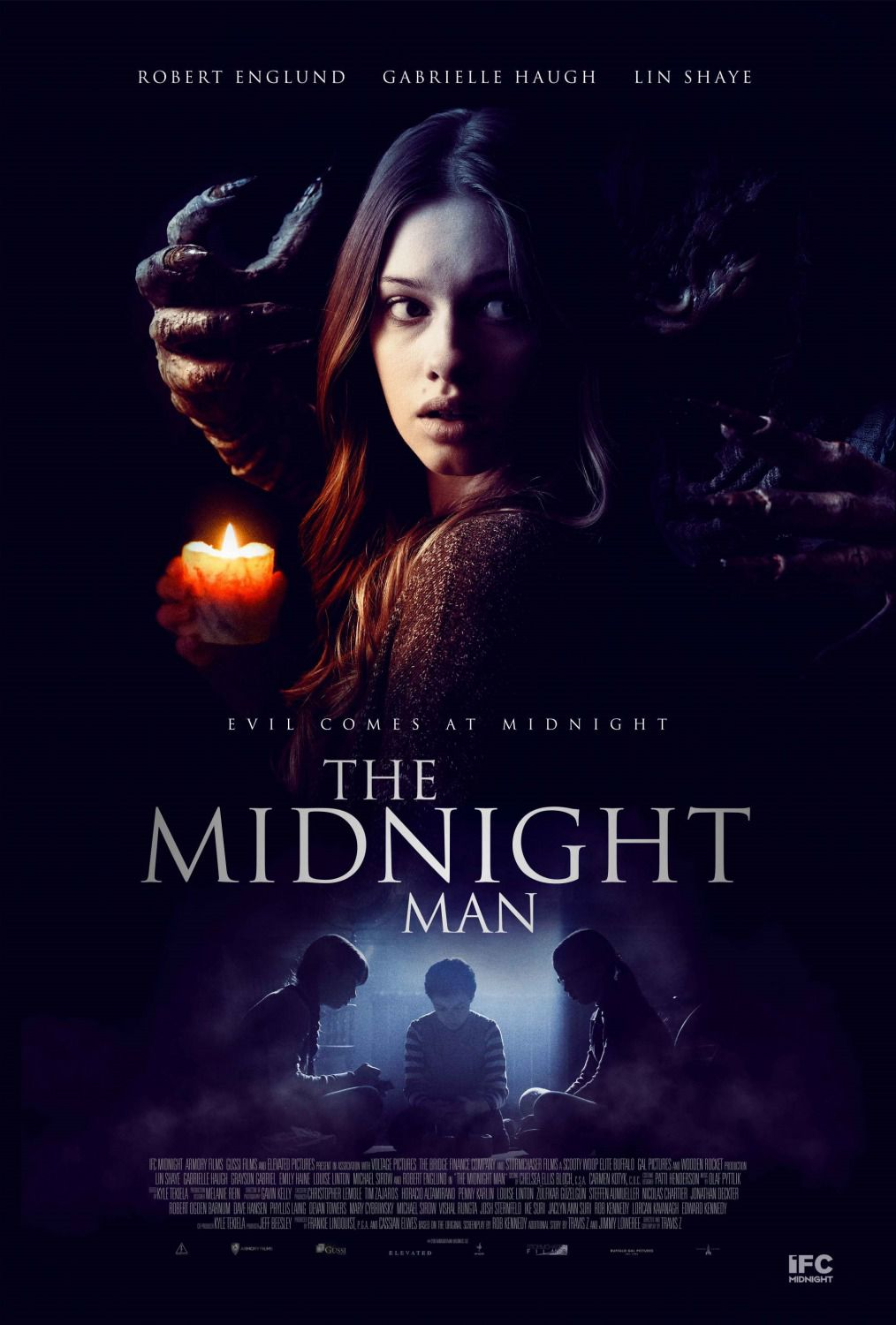 The Midnight Man - horror film poster