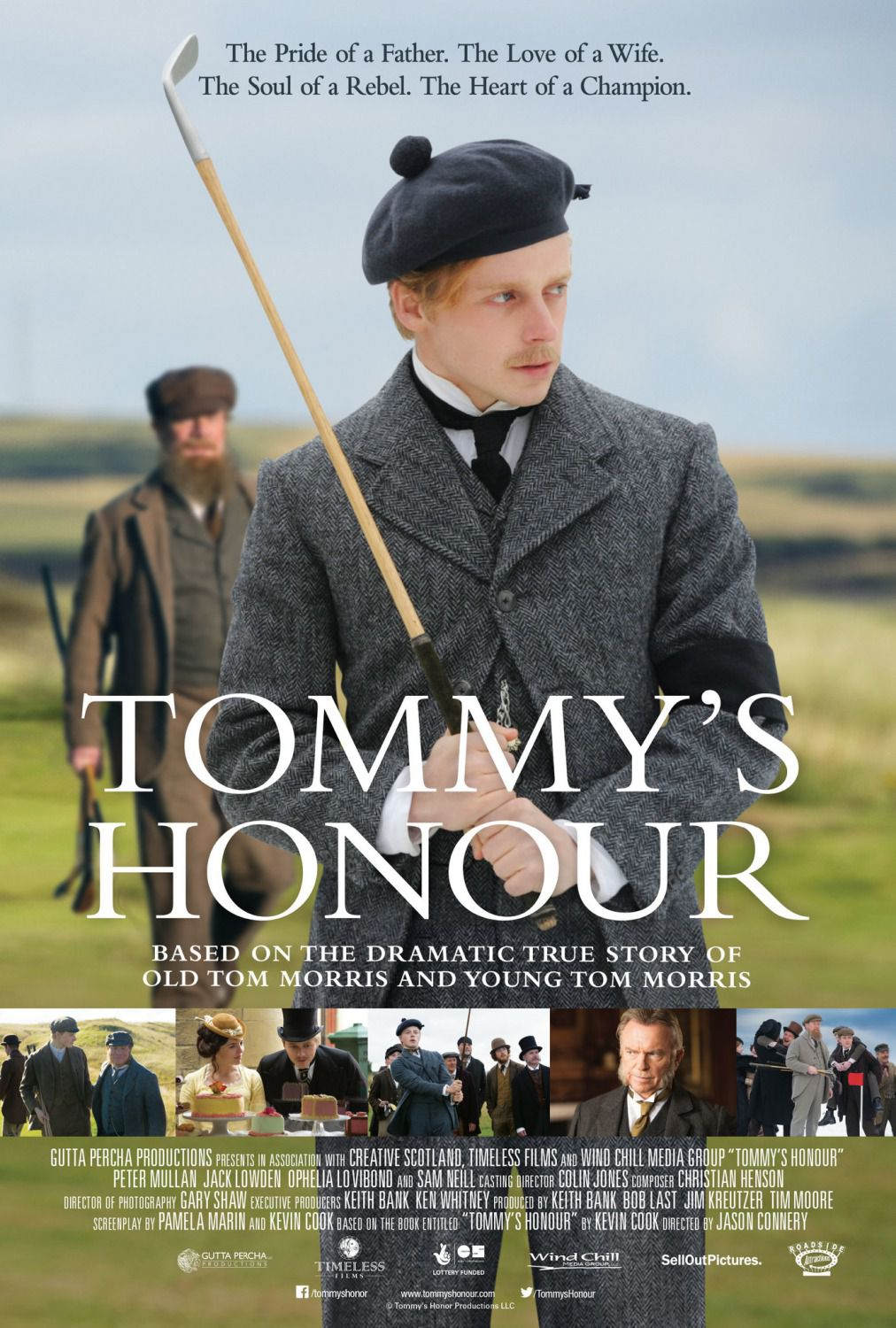 Tommy's honour - L'Onore di Tommy - poster