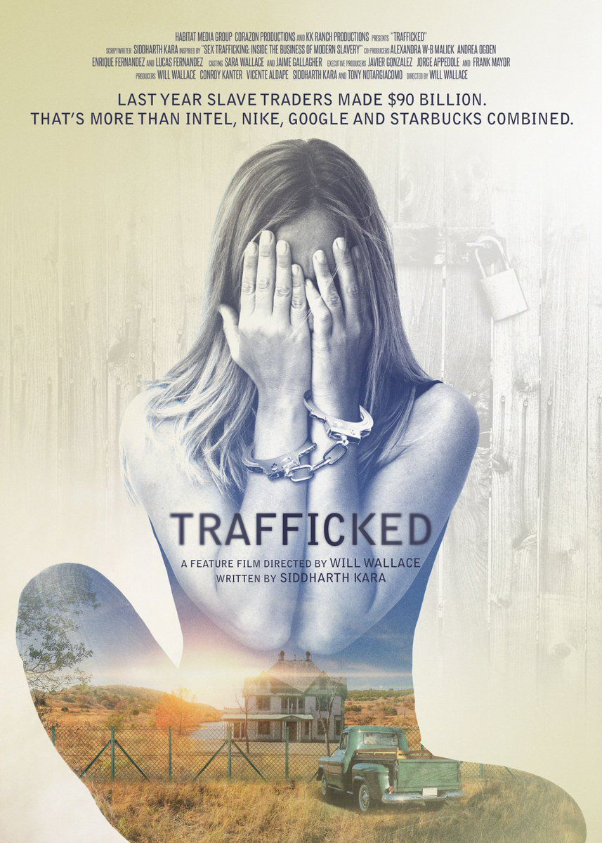Trafficked by Will Wallace - film poster