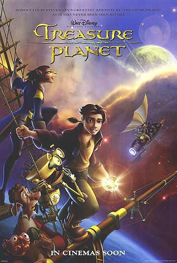 Il Pianeta del Tesoro - Treasure Planet (Disney 2002)