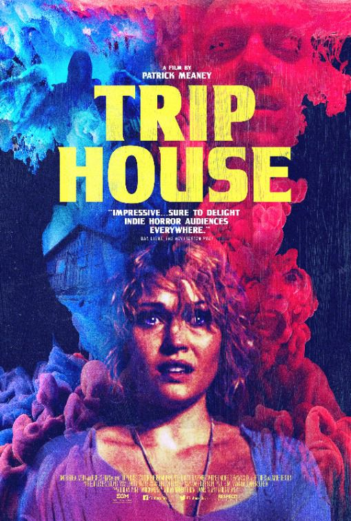House of Demons - Trip House - horror film poster