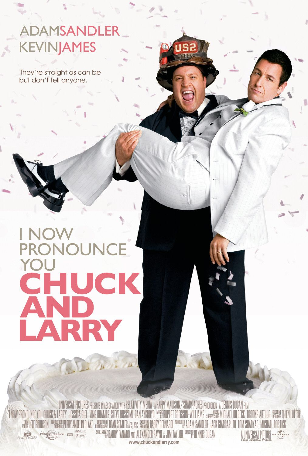 Vi Dichiaro Marito e Marito - I now Pronounce you Chuck and Larry - Adam Sandler, Kevin James, Jessica Biel, Dan Aykroyd
