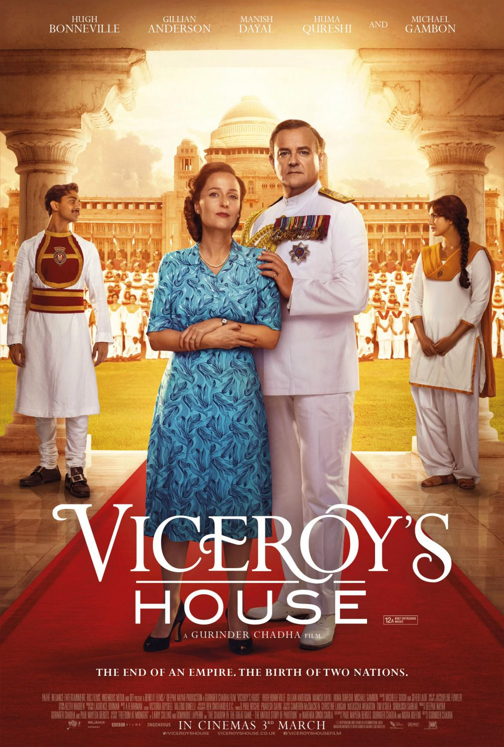 Viceroy's house - le Dernier Vice-Roi des Indies - Ultimo Vicere delle Indie - fim history poster