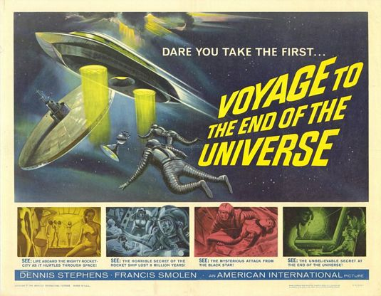 Voyage to the end of the universe - Viaggio alla fine dell'Universo (1964) - classic cult scifi fantascienza space adventure old film poster 60s