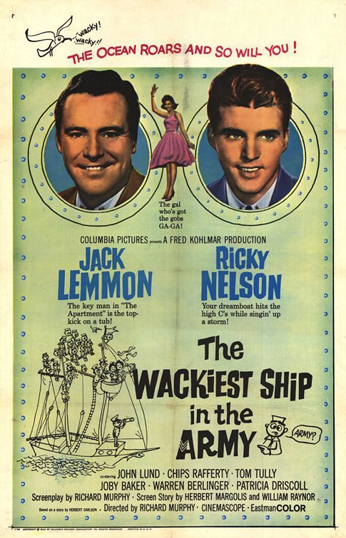 Wackiest Ship in the Army - film classic old cult poster comedy