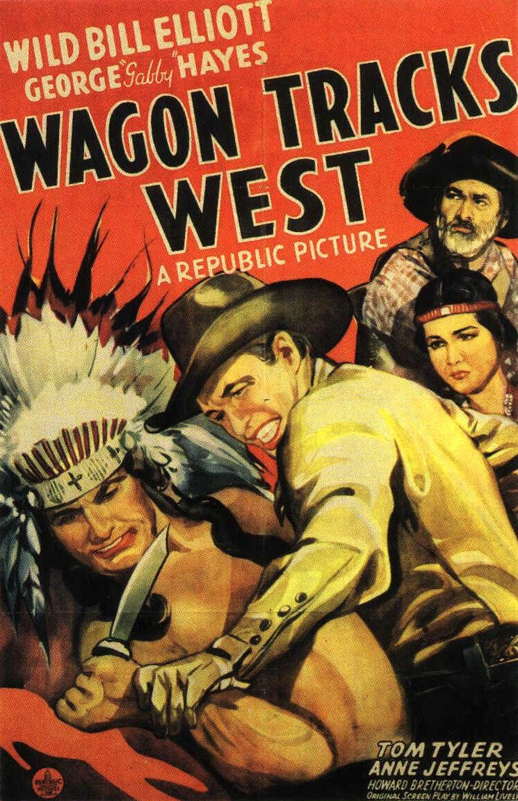 Wagon Tracks West (1943) - film poster