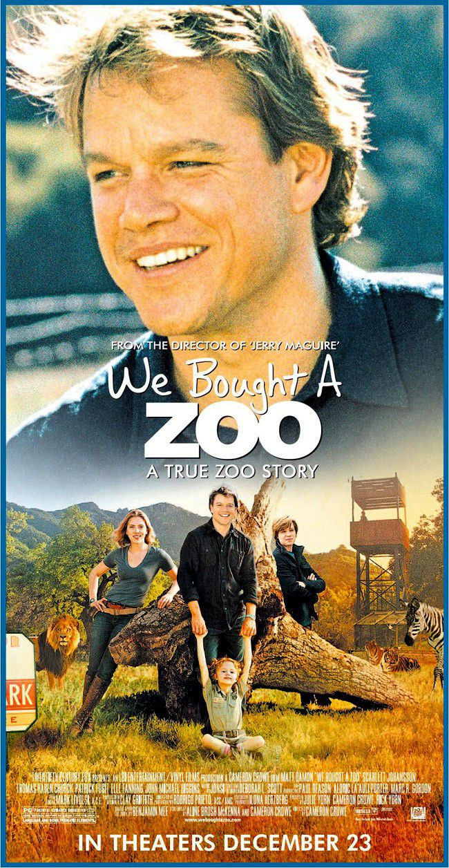 We bought a Zoo - film poster