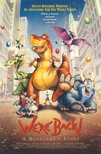 We're back a Dinosaurs Story - Film poster