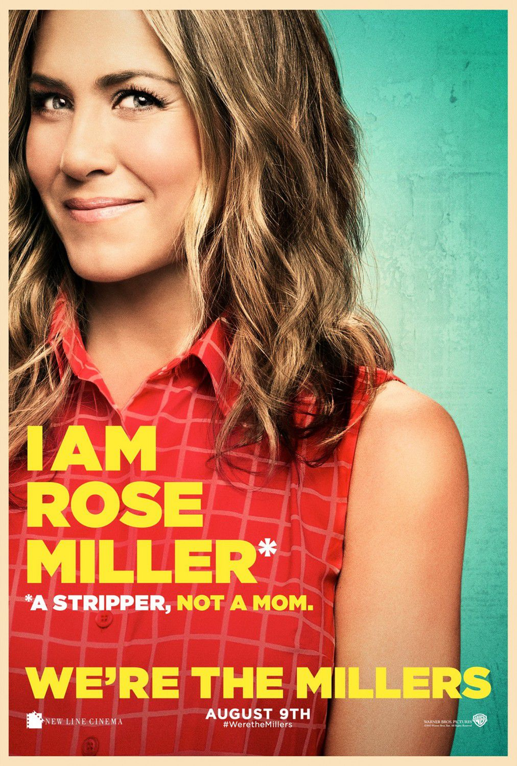 Jennifer Aniston is Rose/Sarah O'Reilly