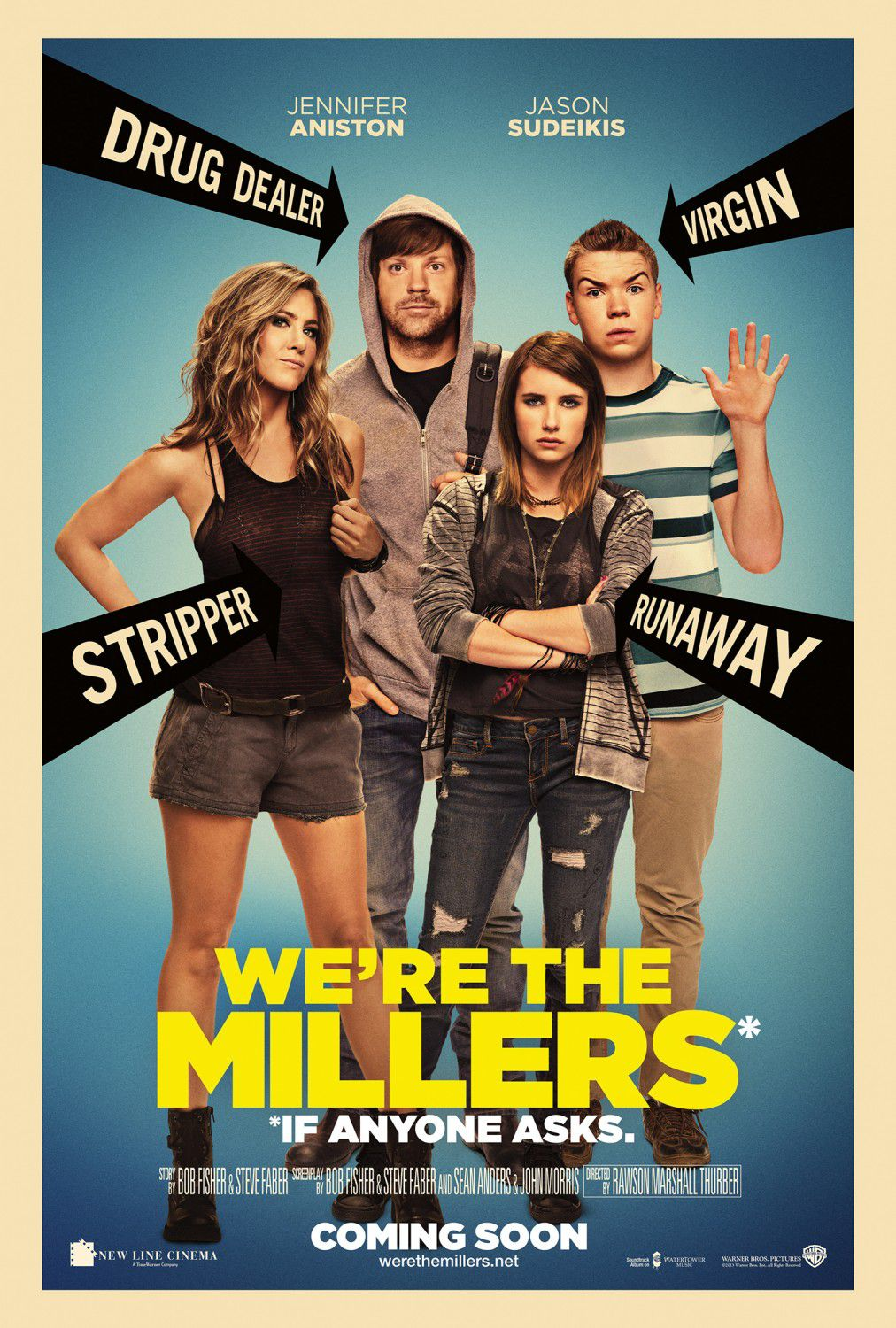 We're the Millers - Come ti Spaccio la Famiglia - comedy film poster