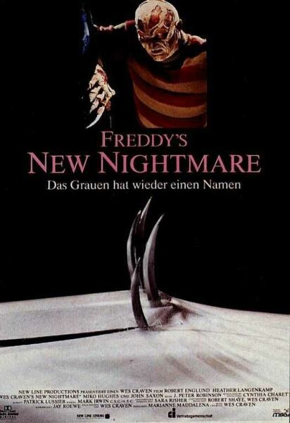 Wes Cravens Freddy's new Nightmare - Film poster