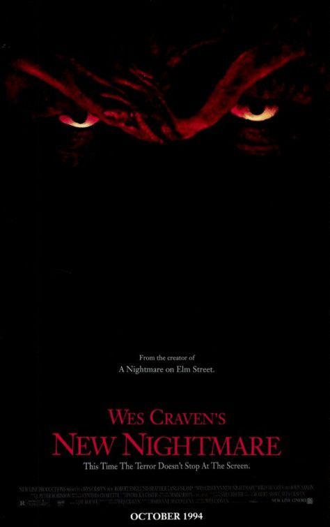 Freddy's Wes Cravens new Nightmare - Film poster