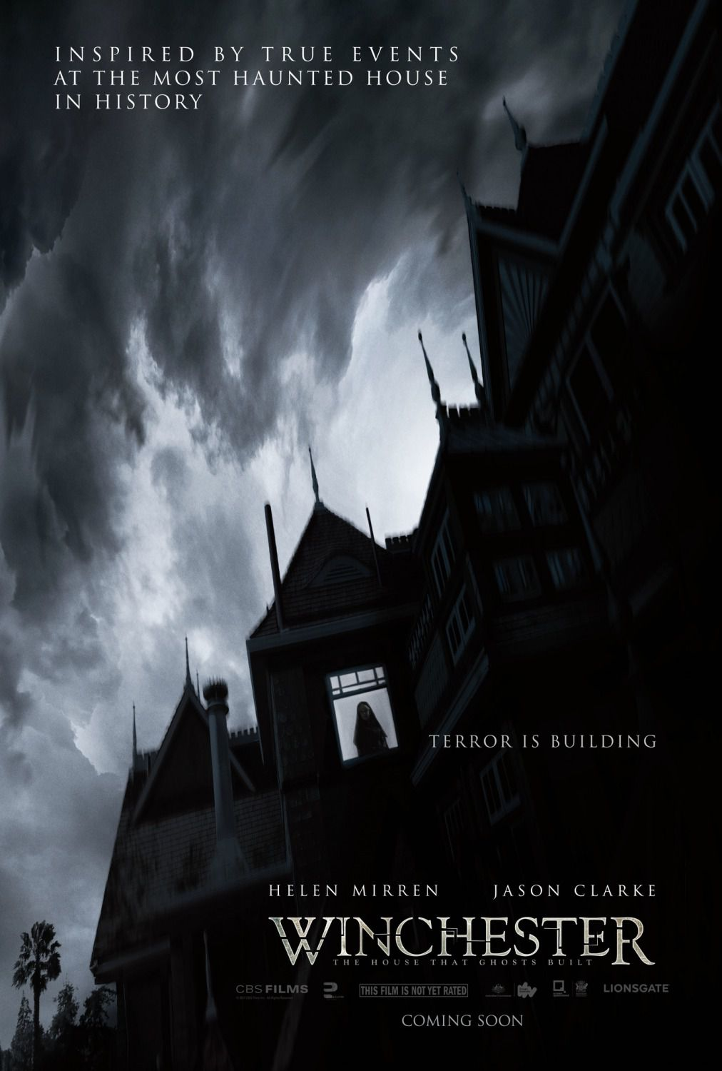 Winchester the house that ghosts built - La Casa costruita dagli Spiriti - horror film poster 2018