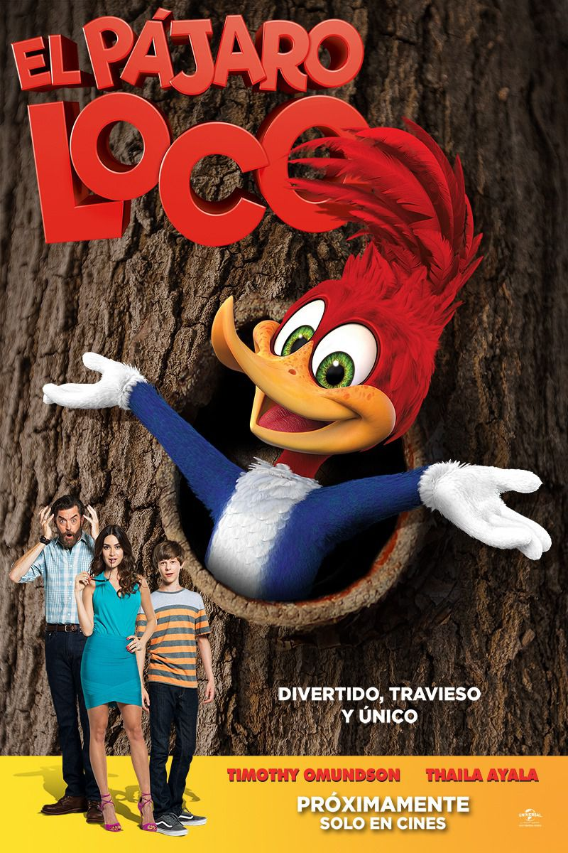Woody Woodpecker - El Pajaro Loco - Picchiatello - live action cartoon film - poster