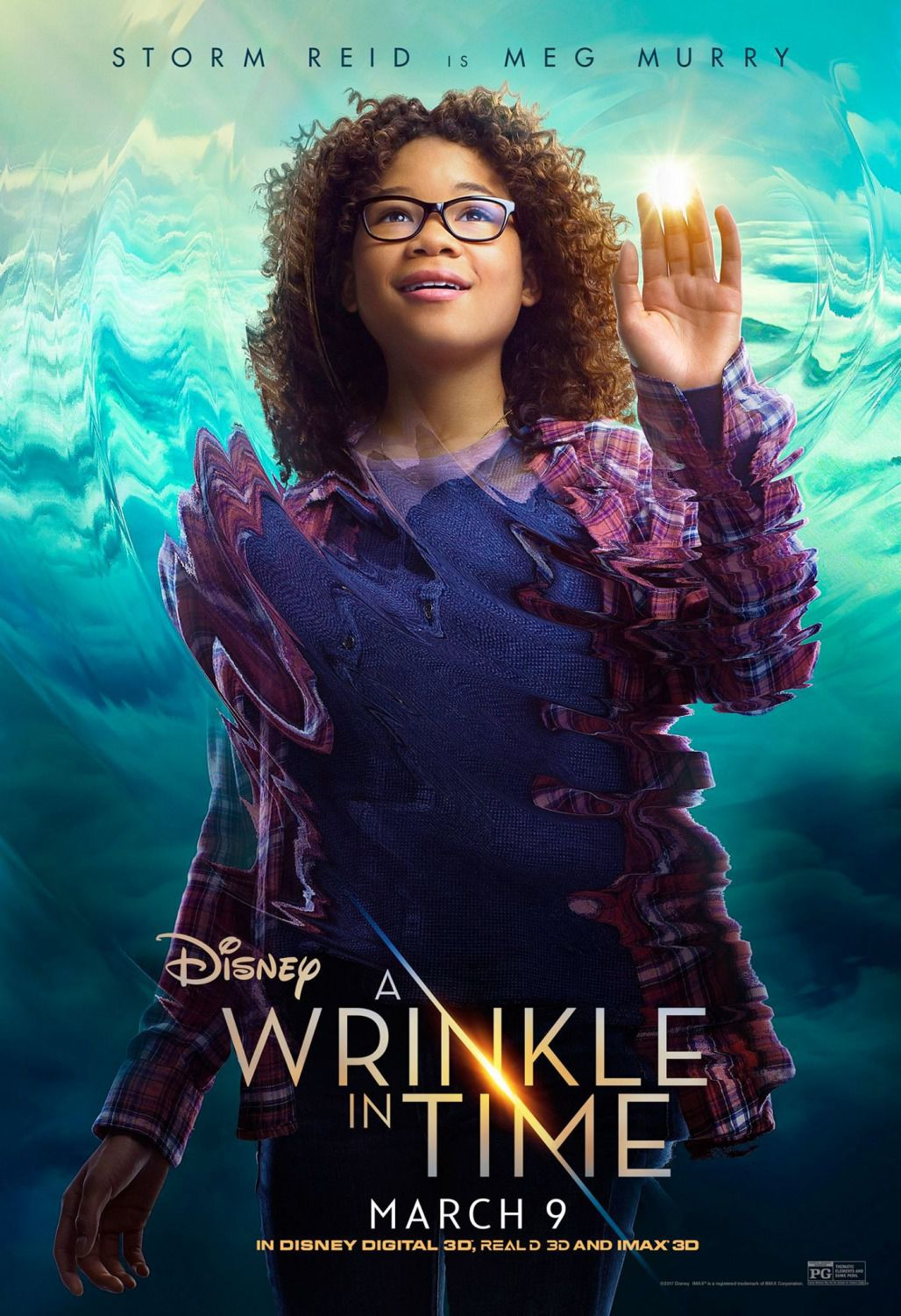 Wrinkle in Time - Storm Reid is Meg Murry