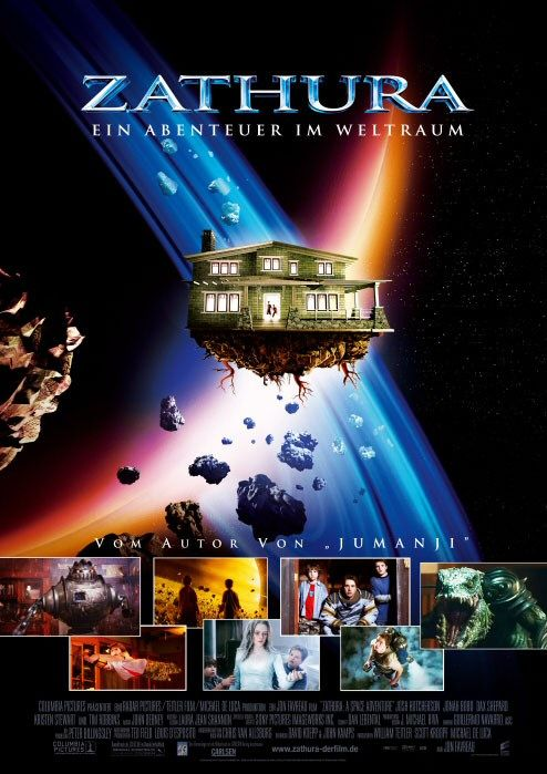 Zathura - space adventure - film poster