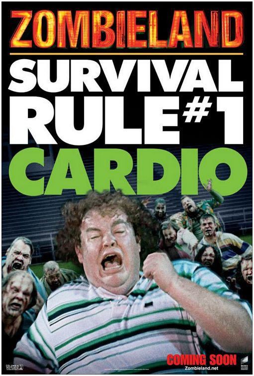 Zombieland - Survival Rule #1 Cardio