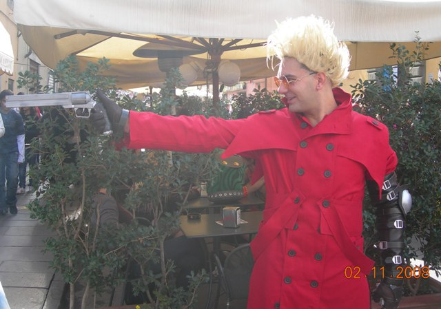 Lucca comics and games 2008 - cosplay - Trigun