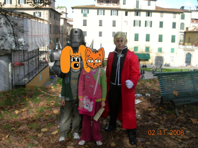 Lucca comics and games 2008 - cosplay - Alchimisti di Full Metal Alchemist