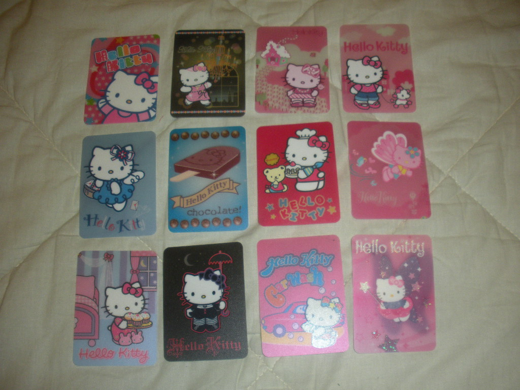 Cards di Hello Kitty