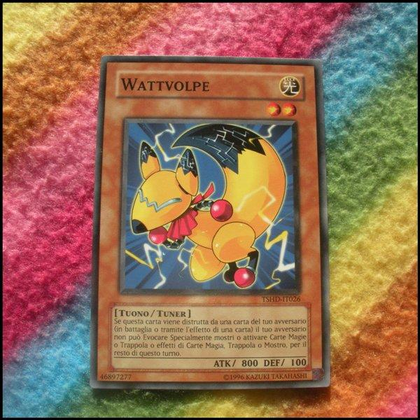Yugioh Cards - Wattvolpe