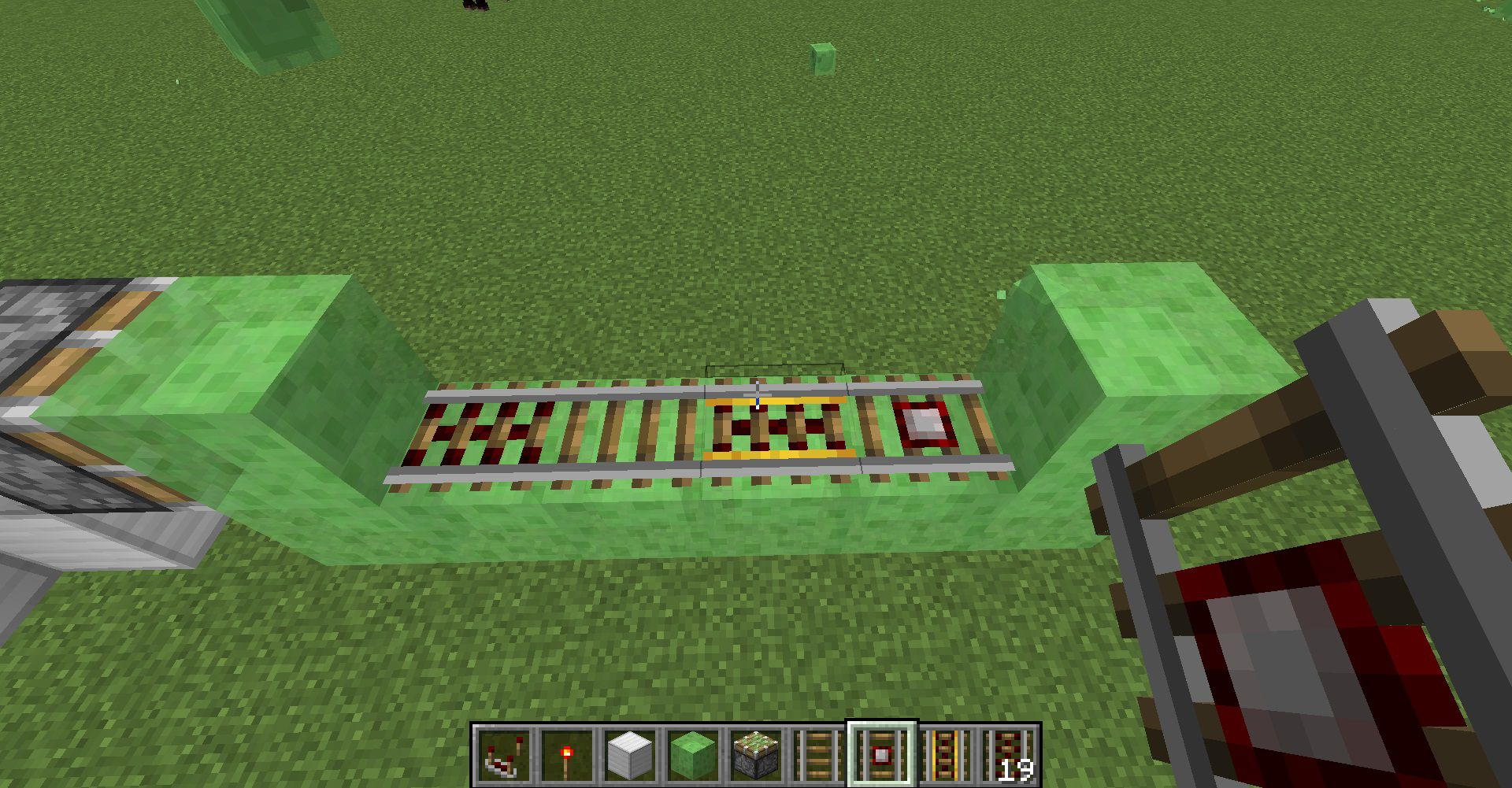 Game - Minecraft - Facile Tutorial per creare una Farm automatica che costruisce Binari ... Easy Peasy!...
