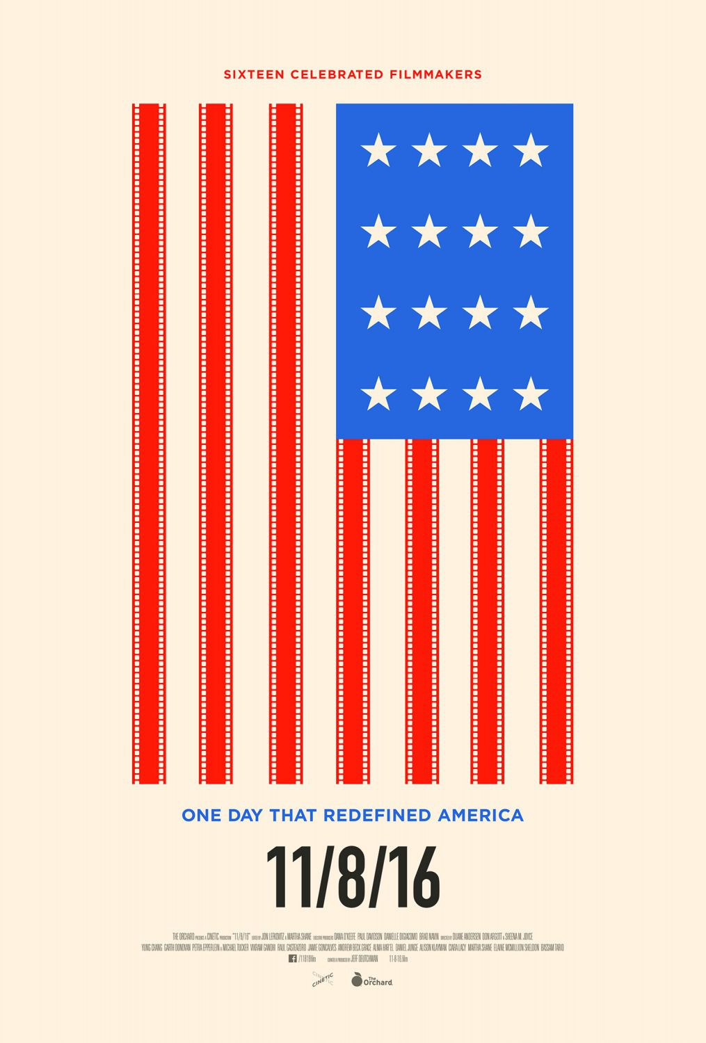 Eleven Eight Sixteen - 11-08-2016 - one day that redefined America - Film poster