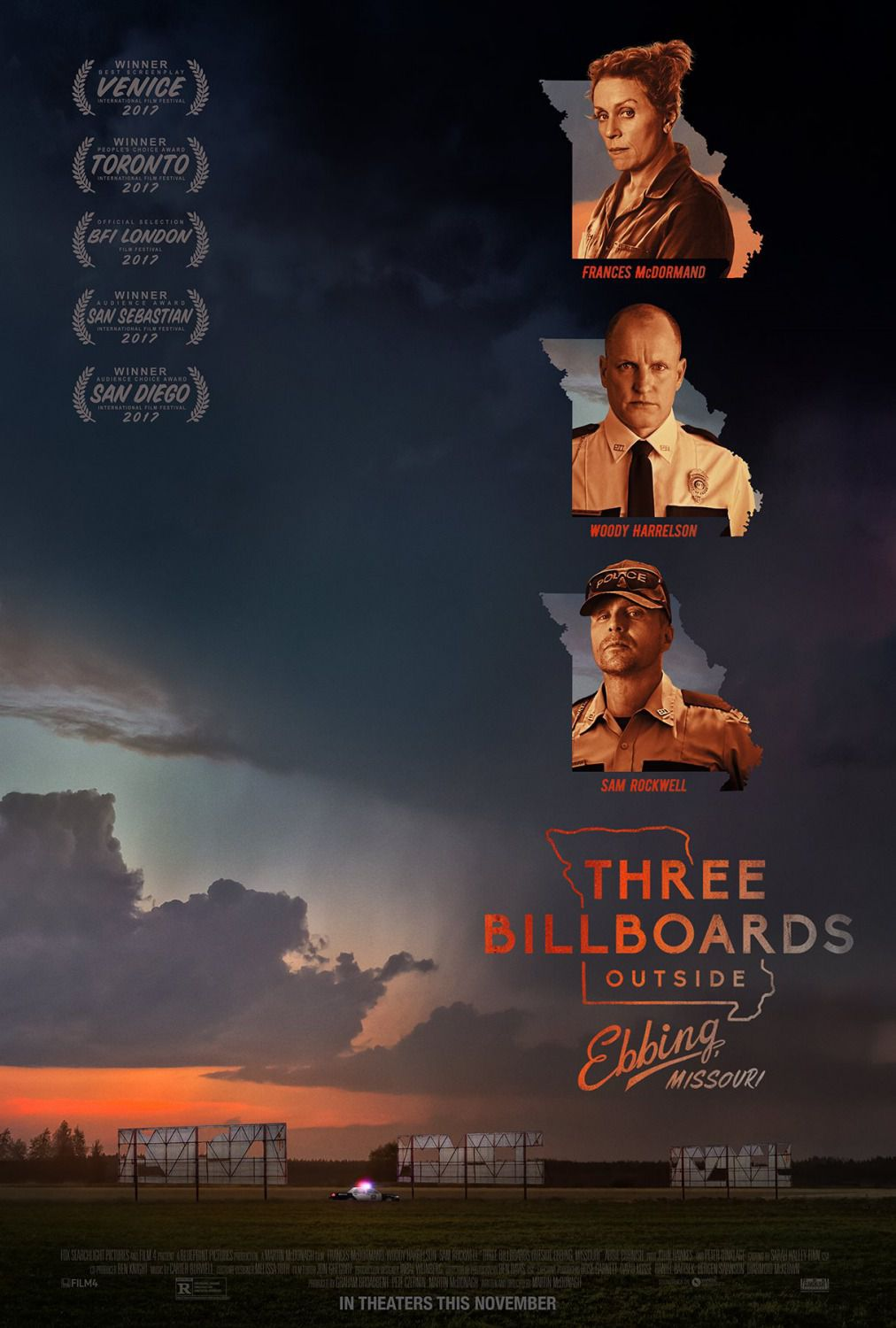 3 Billboards outside Ebbing Missouri