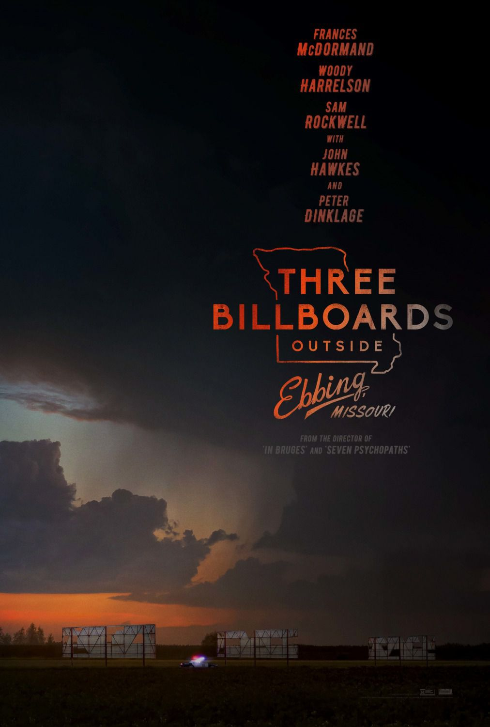 3 Billboards outside Ebbing Missouri - poster