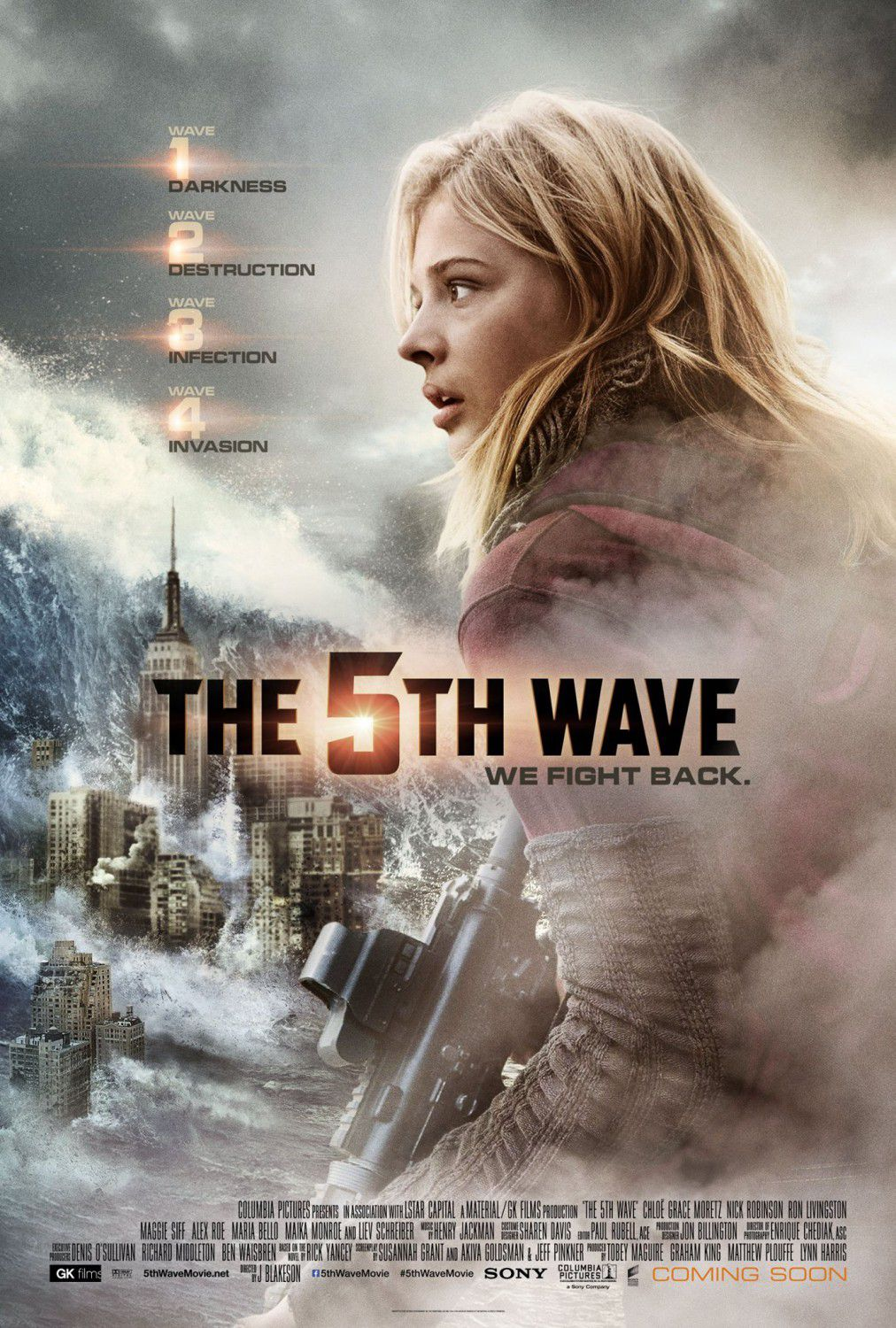 5th Wave - Quinta Onda - Chloe Grace Moretz - film poster