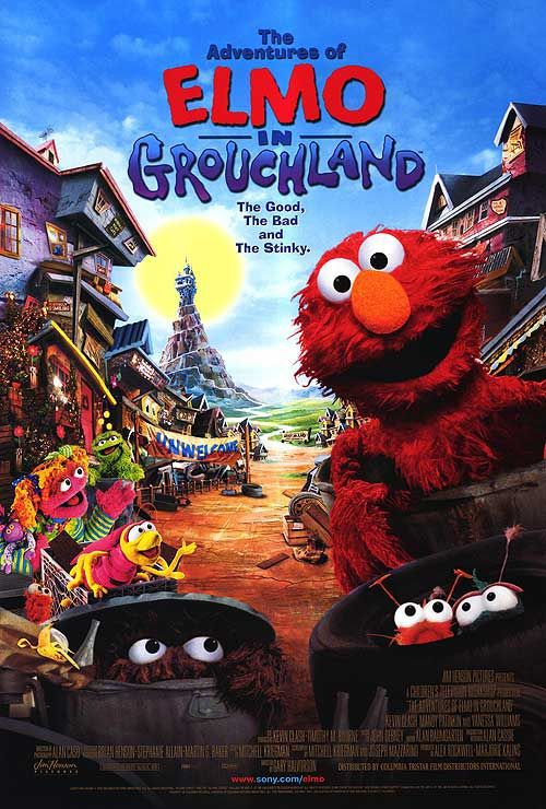 Adventures of Elmo in Grouchland - Elmo in Brontolandia - film poster - Muppets