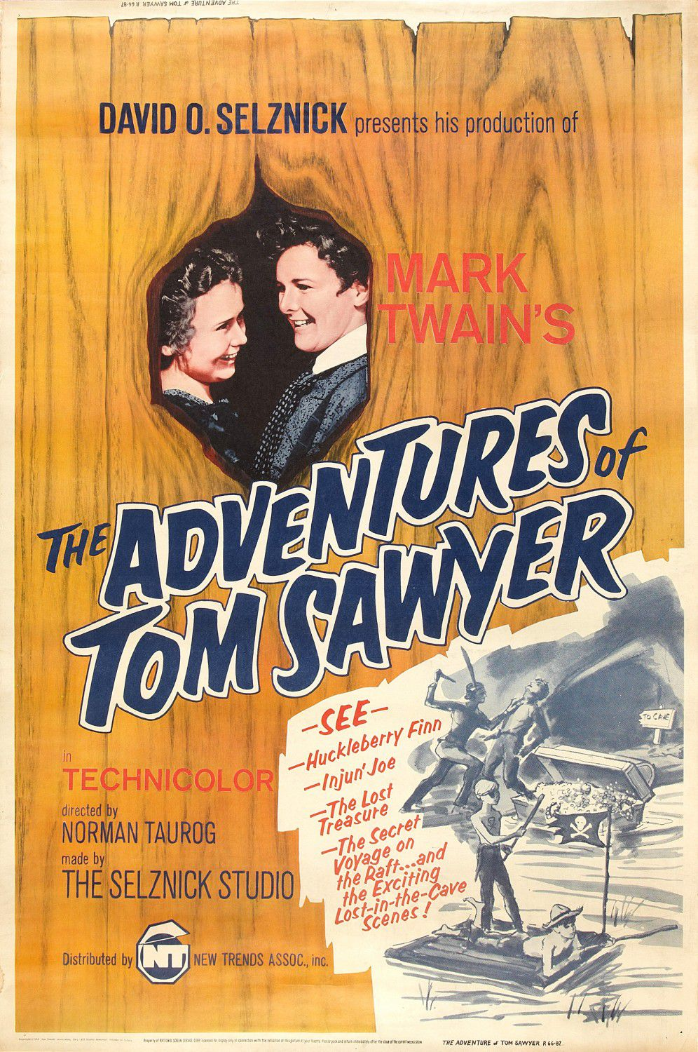 Adventures of Tom Sawyer - Le Avventure di Tom Sawyer