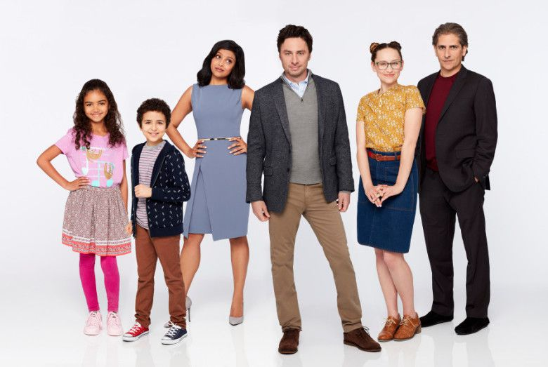 Alex inc - Zach Braff - cast - characters